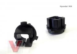 Ксеноновый переходник - адаптер H7 на Hynda / Kia / Mitsubishi Outlander